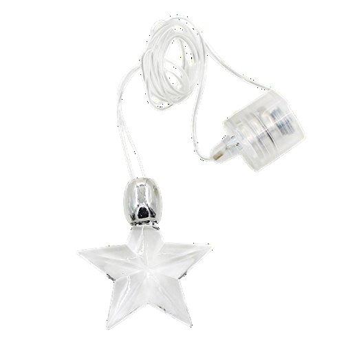 5 Licht Anhänger (Halskette Anhänger Kette mit LED Licht Leuchte Geschenk Party (Modell 5))