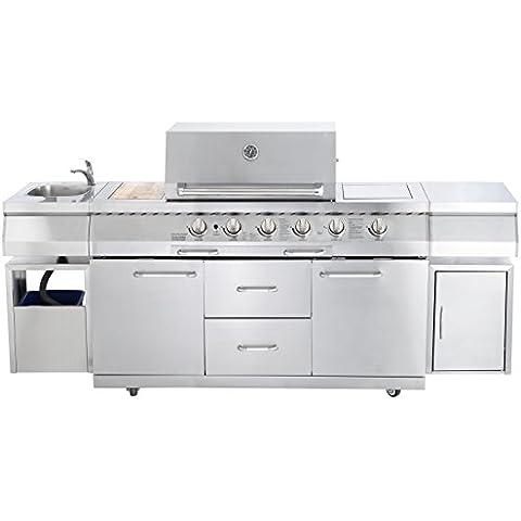 'AllGrill barbecue a Gas Esterno da cucina Professional