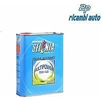 OLIO MOTORE SELENIA MULTIPOWER GAS 5W40 2 LITRI