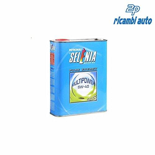Olio motore SELENIA Multipower 5W-40 Gas Pure Energy, conf. da 1 Litro