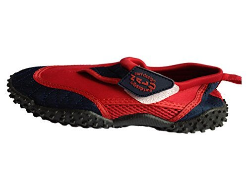 Nalu, Scarpe da immersione uomo (Red with Navy Trim)