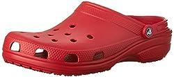 Der Classic Clog für Herren und Damen von Crocs ist ein Schuh für jedes Alter und für jede Gelegenheit.  Egal ob Freizeitschuh, Badeschuh, Sandale oder Arbeitsschuhe im Garten - diese Schuhe passen immer. Pflegehinweis lt. Hersteller: Setzen Sie Ihre...