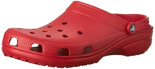 Crocs Unisex-Erwachsene Classic Clogs Rot (Pepper), 43/44 EU