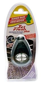 Wunderbaum 453220 Jet Fresh Désodorisant pour voiture Lavande