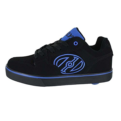 Mens Sneaker Heelys Movimento Moda Nero Più Royal d1wxx