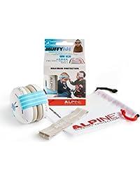 Alpine Muffy Baby Blue - Casques auditifs uniques pour les tout-petits