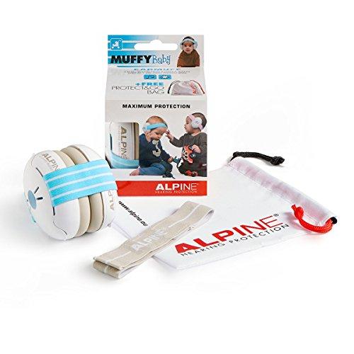 Alpine Muffy Baby Blue - Kapselgehörschutzer für Babys und Kleinkinder