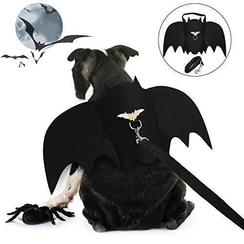 Legendog Halloween Hund Kostüm, Halloween-Haustier-Kostüm-kreatives Hundeschläger-Kostüm-Hundepartei-Kostüm mit - Kostüm Kreative