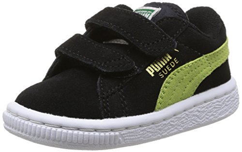 Puma, Baskets mode mixte bébé Noir (Black/Sharp Green)