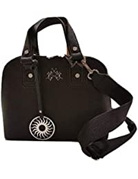 0bb50aff29 La Martina BORSA A MANO SMALL DOME BAG EMILIA 41W312 N0014, COLORE NERO,  TRACOLLA