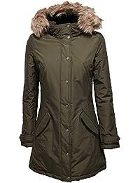 Woolrich Cappotti Verde Donna E Giacche it Amazon Abbigliamento pTwPq61