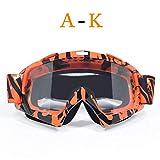 DFGDH Motorrad Schutzbrille Erwachsene Motocrossbrille Dirt Bike Motorradbrille Moto Goggle Ski Brille Sportbrille