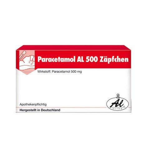 Paracetamol AL 500 10 stk