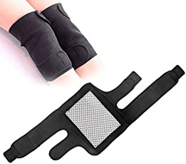 Generic 1Pair Tourmaline Self Heating Kneepad Magnetic Therapy Knee Support Spontaneous Hot Belt Leg Foot Joint Knee Massager