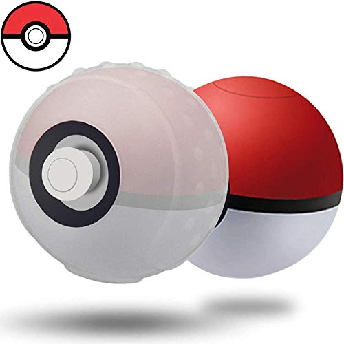 Silikonhülle für Poke Ball Plus Controller, Silikon Pokeball Grip Case Schutz-Zubehör Kompatibel mit Nintendo Switch Poke Ball Plus Controller Pokémon Lets Go Pikachu Eevee Game (Für Pokemon Babys Ist)