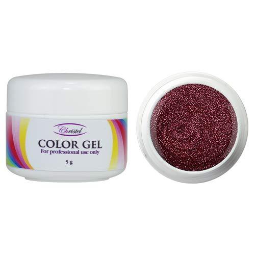 CHRISTEL: UV Farbgel - Divino - 5g - altrose Farbe - von hoher Qualität, geeignet für den...