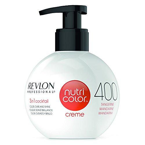 REVLON PROFESSIONAL Nutri Color Creme ,Nr. 400 Tangerine, 1er Pack (1 x 270 ml) - Revlon Creme