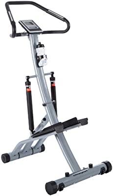 Ultrasport Power Stepper - Máquina de step con sensores de pulso de mano, plegable