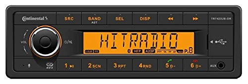 Continental TR7423UB-OR 24 Volt - MP3-Autoradio mit Bluetooth / USB / AUX-IN (Radio 24 Volt)