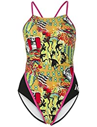 MP Michael Phelps Mujer Jongo redondo espalda Bañador, mujer, Jongo Round Back, Jongo Round Back