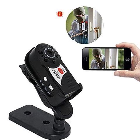 ROKOO Wireless Remote Camera DVR Infrared Night Vision Sport IP Camcorder Motion Detection Video Recorder Q7 Mini Wifi Cameras