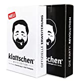 DENKRIESEN - klattschen Doppelpack - klattschen & klattschen White Edition - Die wahrscheinlich besten Trinkspiele Aller Zeiten, Ausführung:Spielkartenkarton