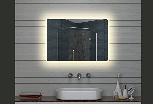 Lux aqua design led specchio luce specchio bagno specchio da