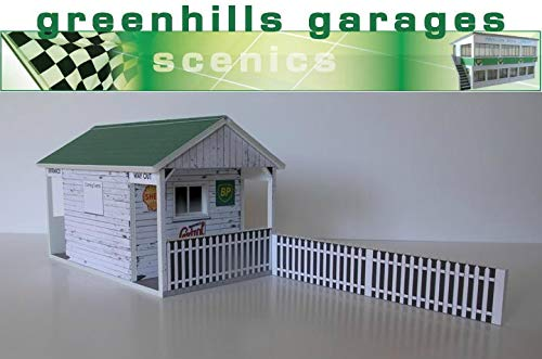 Greenhills Scalextric Slot Car Track Entrance Building