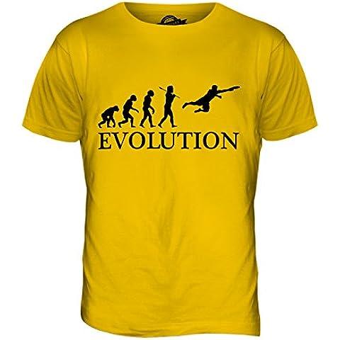CandyMix Ultimate Frisbee Evoluzione Umana T-Shirt da