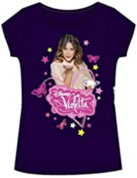 Violetta - Tee shirt manches courtes Violetta violet - 6 ans,8 ans,10 ans,12 ans