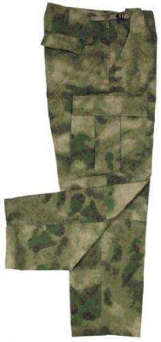 US Kampfhose BDU, Rip Stop, HDT-camo FG Größe: XXL Bdu Woodland Camo