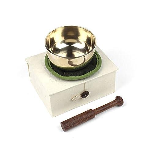 Fair Trade Medium Sized Tibetan Singing Bowl Boxed Set