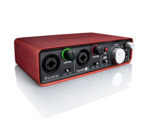Focusrite-SCARLETT-20-USB-Recording-Audio-Interfaces-Red