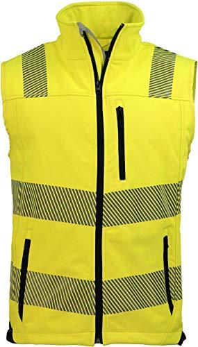 ASATEX Prevent Trendline Warnschutzweste PTW-SW, gelb/schwarz, Gr. M