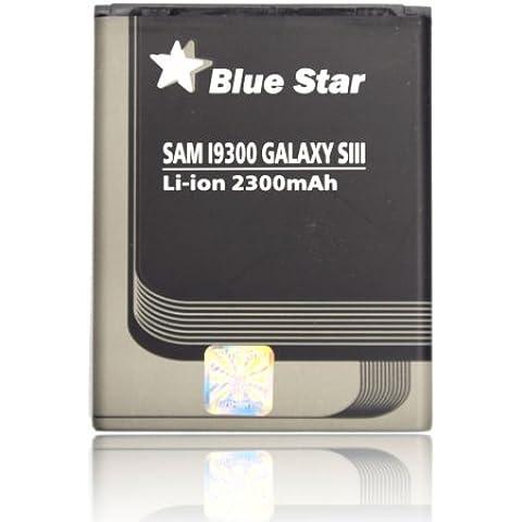 Blue Star Premium - Batería de Li-Ion litio de 2300mAh para Samsung Galaxy S3