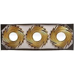 Espejos de pared modernos dorados para decoración Sol Naciente