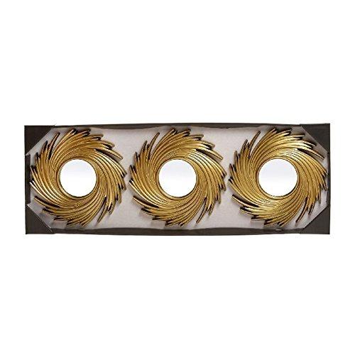 Espejos-de-pared-modernos-dorados-para-decoracin-Sol-Naciente