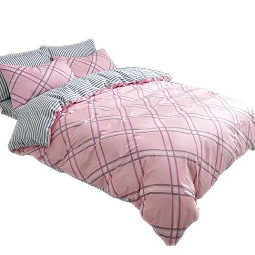 DUPANPAN Super-weiche Bettwäsche Set, Premium-Luxus-Bettwäsche, Tiefe Taschen, hypoallergen, Wrinkle & Fade Resistant,B_Twin Size