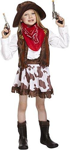 Cowgirl Kostüm Alter 4-6 Jahren zur Verfügung (Kostüm-cowgirl-stiefel)