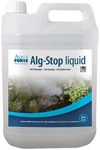 Aquaforte Alg-Stop Anti-Fadenalgenvernichter, 2,5 Liter, flüssig - 2.5% Flüssig