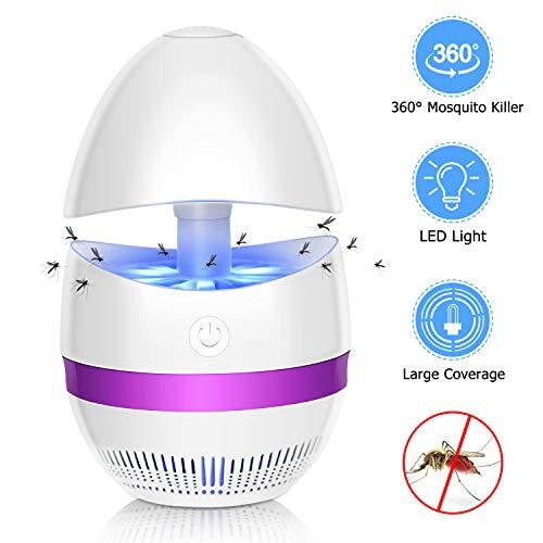 SunnestCablex Sunnest, ElektrischerBienenkiller UV Flug, Insektenlampe Intelligente Bienenkiller Innen Außeneinsatz, lila