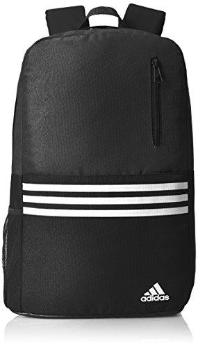 adidas Versatile BP 3S - Mochila, color negro / blanco, talla M