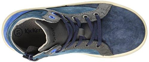 Kickers - Lynx, Scarpe da ginnastica Bambino Blu (Marine/Bleu)