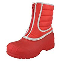 Clarks Snow Trail Snow Boot Red