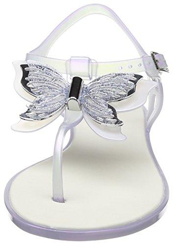 Melissa - Solar Butterfly, Scarpe con cinturino Donna Transparent (Glass)