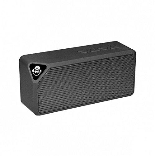 iDance BM1BK - Altavoz portátil Bluetooth (3W, Micro SD, Radio FM) Color...