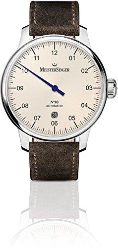 MeisterSinger N°03 AUTOMATIK DM903 Single Hand Watch Classic & Simple