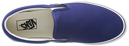 Vans U Classic Slip-on, Baskets mode mixte adulte Bleu (Twilight Blue/True White)