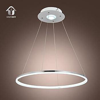 chicstyleme modern simple acrylic led circle pendant light. Black Bedroom Furniture Sets. Home Design Ideas