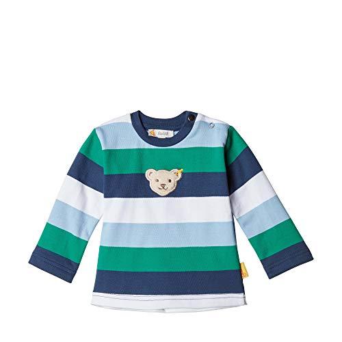 Steiff Baby-Jungen Sweatshirt, Blau (BLACK IRIS 3032), 86 (Herstellergröße:86)